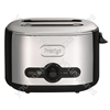 Debut 2 Slice Toaster in Black & Chrome