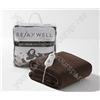 Relaxwell Chocolate Coloured Heated Throw