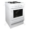 50cm Single Cavity Electric Cooker - White