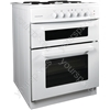 60cm Twin Cavity Electric Cooker - White