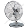 12-Inch Chrome Desk Fan