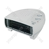 2KW Flat Fan Heater with Thermostat