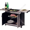 Connoisseur Metal Wood Effect Food Trolley