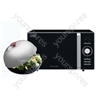 Black Touch Control Microwave with Steamer