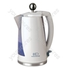 Cordless Plastic Eco Kettle in White