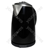 1.7 Litre 3kW Stainless Steel Kettle in Black