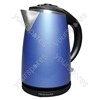 1.7 Litre 3kW Stainless Steel Kettle in Blue