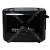 2 Stainless Steel Slice Toaster in Black