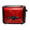 2 Stainless Steel Slice Toaster in Red