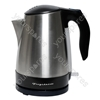 Brushed Stainless Steel 1ltr Kettle