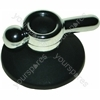 Indesit KDP60C(T) Black and Chrome Cooker Control Knob