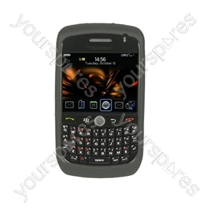BlackBerry Curve 8900 Silicone Case &amp; Scr Prot