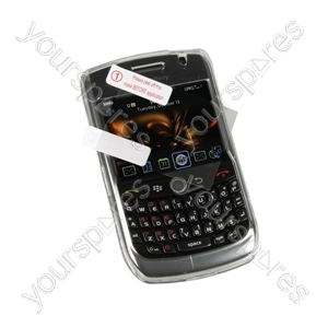 BlackBerry Curve 8520 Crystal Case &amp; Screen Prot