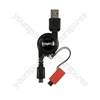 Blackberry Retractable Micro Usb Cable