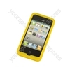 iPhone 4 - Silicone Grip - Yellow