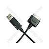 iPad-iphone-ipod Usb Data Cable - Black