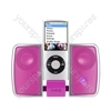 Apple iPod Nano G5 i-Station Traveller - Light Pink