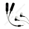 Deluxe Audio Splitter &amp; Earphones