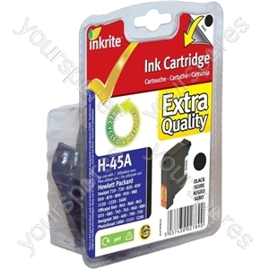 HP OfficeJet 300 NG Ink Cartridges ( 45) for DeskJet 710 820 930 OfficeJet R40 R60 R80 - 51645A Black