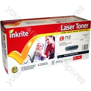 Inkrite Laser Toner Cartridge Compatible with Canon LBP3010 3018 3100 3108 3050  Black