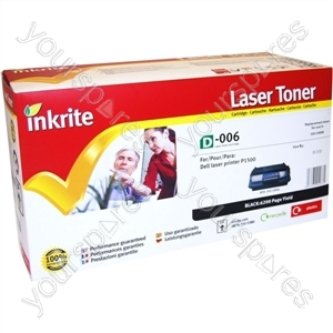 Inkrite Laser Toner Cartridge compatible with Dell P1500 Hi-Cap Black