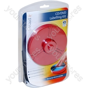 PressIt DVD/CD Labelling Kit 'Superlite'