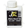 Just Refill 250ml Photo Black Universal Refill Ink
