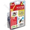 Inkrite NG Printer Ink (Chipped) for Canon iP3300 4200 4300 5200 ix4000 MP500 - CLI-8C Cyan (Horse)