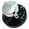 Stoves Black and Silver Hob Control Knob