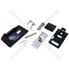 Hotpoint A800 Door Handle Kit Brown