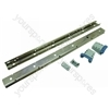 Whirlpool ADG6521-BDT Rail, Telescopic