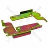 Whirlpool ADG6804FKI Dishwasher Door Hinge Kit