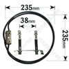 Hotpoint 6117B 2500 Watt Circular Fan Oven Element