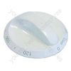 White Knight (Crosslee) White Tumble Dryer Timer Knob