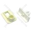 Crosslee PEG White Knight () Tumble Dryer Door Catch