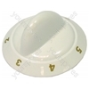 Tricity Bendix White Hob Control Knob