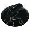 Tricity Bendix Black Hob Control Knob