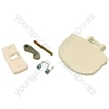 Zanussi White Washing Machine Handle Kit
