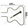 AEG SPARE Bottom Oven Element