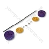 Dyson DC03ABSL Assembly Kit Purple/yellow Vacuum Wheel
