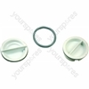 Indesit DV62BKUK Dishwasher Rinse Aid Cap - Pack of 2