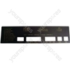 Hotpoint 9551W Console Fascia