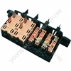Hotpoint 9934W 4-gang switch