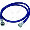 Indesit 2500 Dishwasher Blue Cold Water Fill Hose - 2 Metres