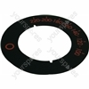 Indesit Top Oven Control Disc