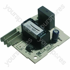 Indesit IS60VFR Pcb Relay Card
