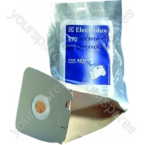 Electrolux Vacuum Paper Bag and Filter Pack (E70)