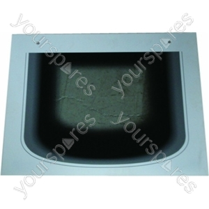 Creda D130EW Main Oven Outer Door Glass with White Surround