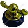 Creda Dark Green & Gold Cooker Control Knob