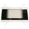Creda 48186 Oven Door Glass Assembly w/ White Detail